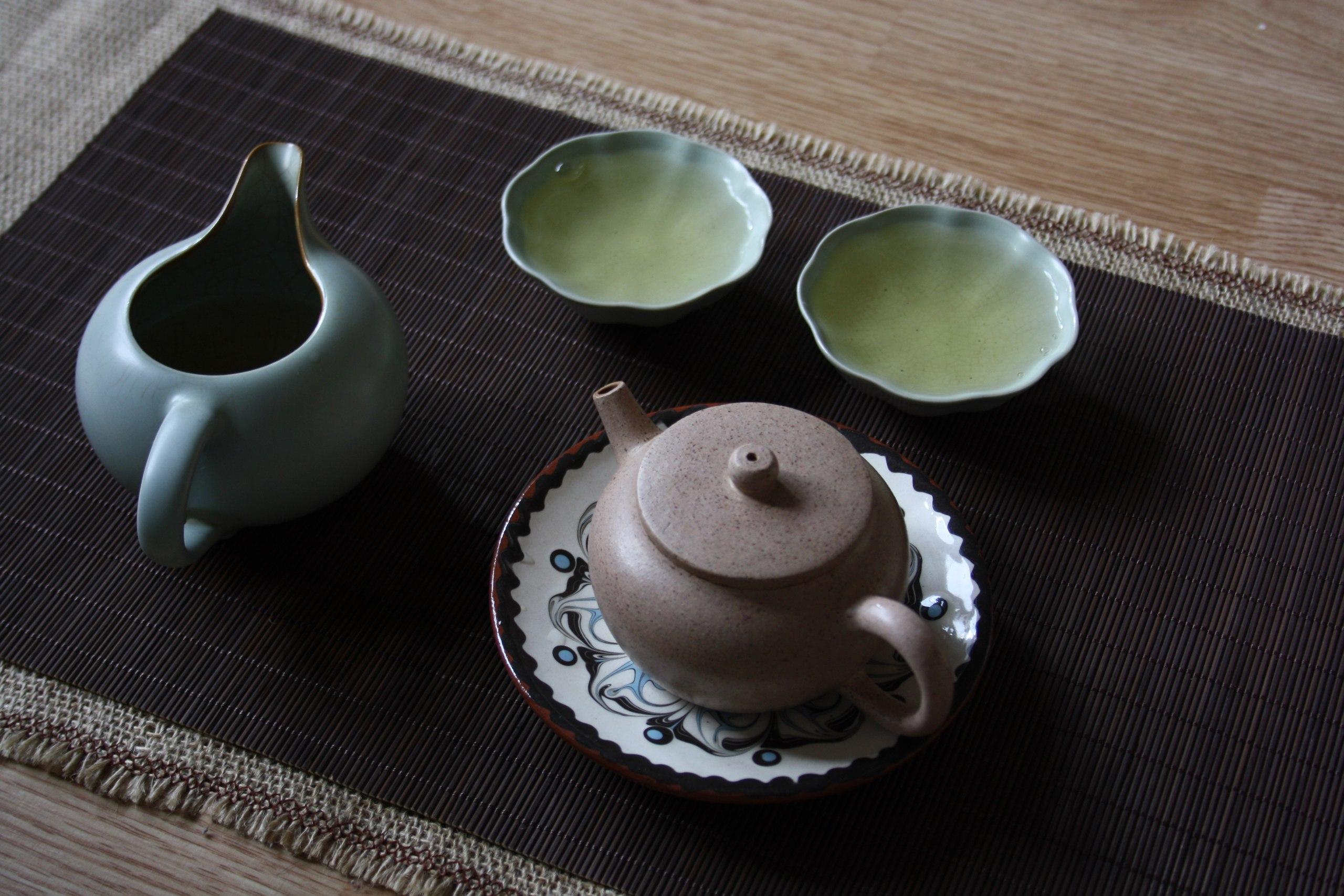 зеленый чай Мойчай.ру чайная церемония